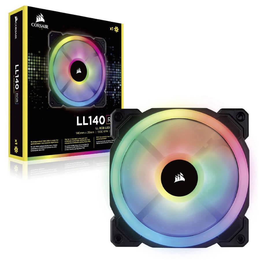 فن کیس کورسیر LL140 RGB 140mm