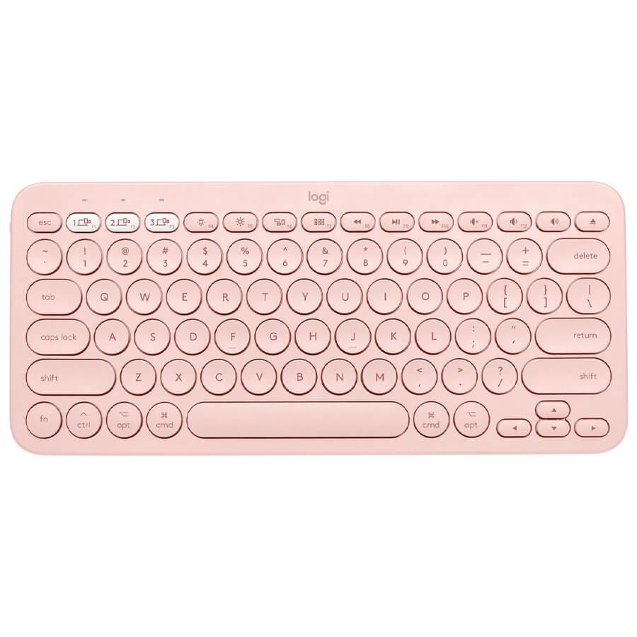 کیبورد بی سیم لاجیتک K380 Pink Qwerty
